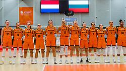 21-11-2018 NED: Netherlands - Bulgaria, Amsterdam<br /> Qualify FIBA Women's EuroBasket 2019 at Sporthallen Zuid Amsterdam / Group Phase Group F, Final Score 89-68 / Team NL Basketball, Angels