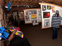 Arts Alive event at the Belknap Mill in downtown Laconia featuring artwork from schools throughout the region.