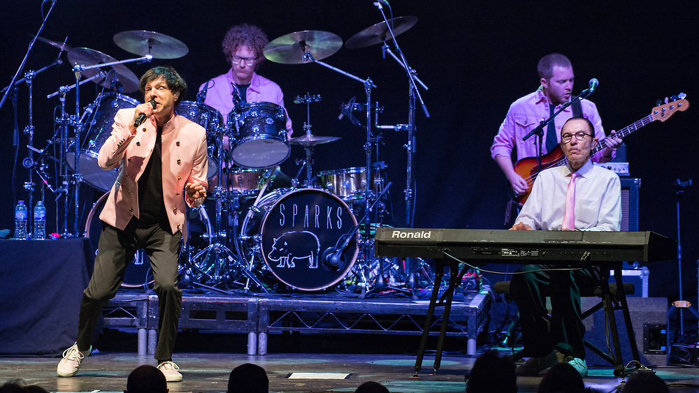 Sparks in concert at The O2 Academy, Glasgow, Great Britain 22nd May 2018