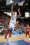 DESCRIZIONE : Madrid Spagna Spain Eurobasket Men 2007 Qualifying Round Italia Turchia Italy Turkey GIOCATORE : Angelo Gigli <br /> SQUADRA : Nazionale Italia Uomini Italy <br /> EVENTO : Eurobasket Men 2007 Campionati Europei Uomini 2007 <br /> GARA : Italia Turchia Italy Turkey <br /> DATA : 10/09/2007 <br /> CATEGORIA : Tiro <br /> SPORT : Pallacanestro <br /> AUTORE : Ciamillo&amp;Castoria/T.Wiedensohler <br /> Galleria : Eurobasket Men 2007<br />  Fotonotizia : Madrid Spagna Spain Eurobasket Men 2007 Qualifying Round Italia Turchia Italy Turkey Predefinita : si