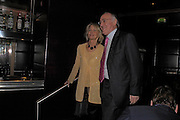 Michael and Sandra Howard. Conservative fund raising dinner hosted  by Marco Pierre White and Franki Dettori at  Frankie's. Knightsbridge. 17 January 2004. ONE TIME USE ONLY - DO NOT ARCHIVE  © Copyright Photograph by Dafydd Jones 66 Stockwell Park Rd. London SW9 0DA Tel 020 7733 0108 www.dafjones.com
