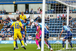 Tony Craig of Bristol Rovers scores a goal to make it 2-0 - Mandatory by-line: Robbie Stephenson/JMP - 18/08/2018 - FOOTBALL - Adam's Park - High Wycombe, England - Wycombe Wanderers v Bristol Rovers - Sky Bet League One