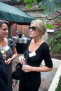 AMELIA GREENE, Archant Summer party. Kensington Roof Gardens. London. 7 July 2010. -DO NOT ARCHIVE-© Copyright Photograph by Dafydd Jones. 248 Clapham Rd. London SW9 0PZ. Tel 0207 820 0771. www.dafjones.com.
