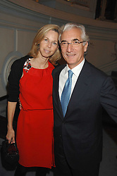 SIR RONALD & LADY COHEN at a party to celebrate the publication of 101 World Heroes by Simon Sebag-Montefiore at The Savile Club, 69 Brook Street, London W1 on 9th October 2007.<br />