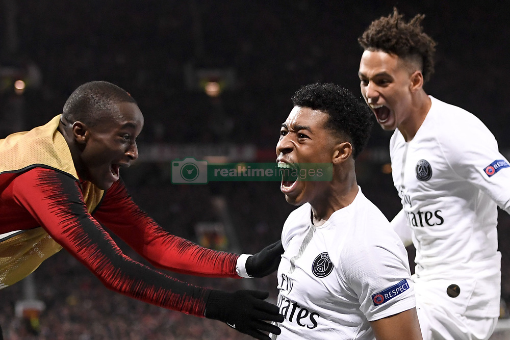 February 12, 2019 - Manchester, France - JOIE - 03 PRESNEL KIMPEMBE (PSG) - 27 MOUSSA DIABY  (Credit Image: © Panoramic via ZUMA Press)