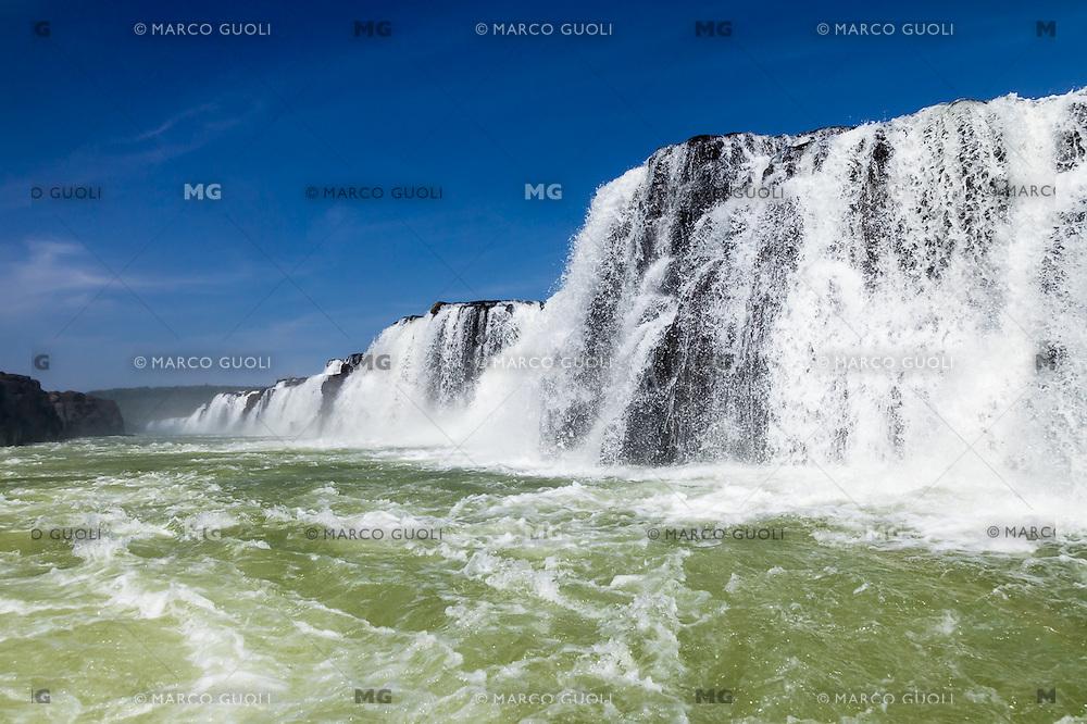 CATARATAS SALTOS DEL MOCONA, RIO URUGUAY, PARQUE PROVINCIAL MOCONA, EL SOBERBIO, PROVINCIA DE MISIONES, ARGENTINA (© MARCO GUOLI - ALL RIGHTS RESERVED)