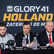 """NLD/Den Bosch/20170510 - Persconferentie Glory 41, Ismael """"The Star"""" Lazaar"""
