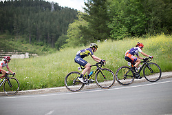 Gracie Elvin (AUS) of Orica Scott Cycling Team rides mid-pack during Stage 3 of the Emakumeen Bira - a 77.6 km road race, starting and finishing in Antzuola on May 19, 2017, in Basque Country, Spain. (Photo by Balint Hamvas/Velofocus)