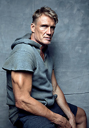 November 5, 2017 - Los Angeles, California, U.S. - DOLPH LUNDGREN Swedish actor, director, screenwriter, producer, and martial artist, works out in a gym. (Credit Image: © Brian Lowe/ZUMA Wire/ZUMAPRESS.com)