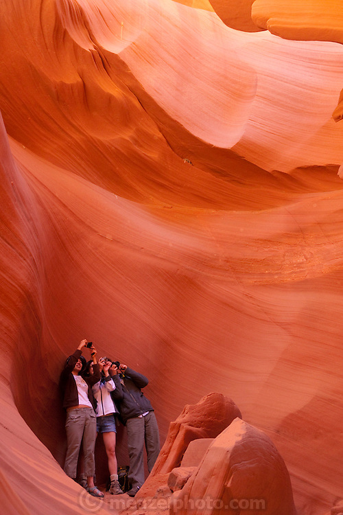 Page, Arizona. Lower Antelope Canyon, slot canyon