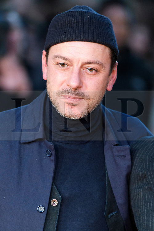 © Licensed to London News Pictures. 16/10/2016. London, UK. ENZO CILENTI attends the film premiere of Free Fire showing at The London Film Festival. Ray Tang/LNP