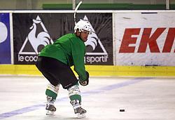 Kevin Mitchell at second ice hockey practice of HDD Tilia Olimpija on ice in the new season 2008/2009, on August 19, 2008 in Hala Tivoli, Ljubljana, Slovenia. (Photo by Vid Ponikvar / Sportal Images)