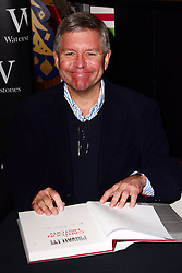 Private Eye editor Ian Hislop (not in frame) and illustrator Nick Newman sign copies of the Private Eye Annual 2013 and Private Eye: A Cartoon History AT Waterstones, Leadenhall Market, Whittington Avenue, London, United Kingdom. Tuesday, 10th December 2013. Picture by Nils Jorgensen / i-Images