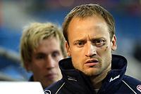Fotball, 28. april 2004, Privatlandskamp, Norge-Russland 3-2, Sigurd Rushfeldt og Morten Gamst Pedersen, Norge