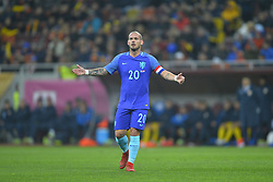 November 14, 2017 - Bucharest, Romania - Wesley Sneider reacts during International Friendly match between Romania and Netherlands at National Arena Stadium in Bucharest, Romania, on 14 november 2017. (Credit Image: © Alex Nicodim/NurPhoto via ZUMA Press)