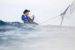 World Sailing Emerging Nations Program - Boca Chica Sailing Club, Santo Domingo 08/19/2017 - DAY 2 - Katya Estrada from Guatemala in action during the competition