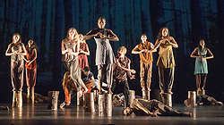 © Licensed to London News Pictures. 08/06/2013. National Youth Dance Company present '(in between)', a new work created by Guest Artistic Director Jasmin Vardimon. At Sadler's Wells Theatre, London.  Photo credit: Tony Nandi/LNP