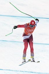 10.02.2018, Jeongseon Alpine Centre, Pyeongchang, KOR, PyeongChang 2018, Ski Alpin, Herren, Abfahrt, Training, im Bild Patrick Kueng (SUI) // Patrick Kueng of Switzerland during the Mens Ski Alpine Downhill Training of the Pyeongchang 2018 Winter Olympic Games at the Jeongseon Alpine Centre in Pyeongchang, South Korea on 2018/02/10. EXPA Pictures © 2018, PhotoCredit: EXPA/ Johann Groder
