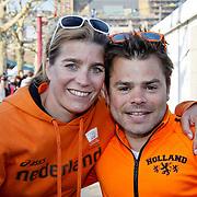 NLD/Amsterdam/20100430 - Radio 538 Koniginnedag Concert 2010, Nicolien Sauerbreij Roel van Velzen