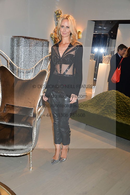 LADY VICTORIA HERVEY at the PAD London 2015 VIP evening held in the PAD Pavilion, Berkeley Square, London on 12th October 2015.