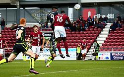 Ellis Harrison of Bristol Rovers scores a goal to make it 2-0 - Mandatory by-line: Robbie Stephenson/JMP - 07/10/2017 - FOOTBALL - Sixfields Stadium - Northampton, England - Northampton Town v Bristol Rovers - Sky Bet League One