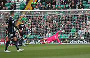 Celtic's Scott Brown (hidden) puts his side 2-0 ahead -  Celtic v Dundee - SPFL Premiership at Celtic Park<br /> <br /> <br />  - © David Young - www.davidyoungphoto.co.uk - email: davidyoungphoto@gmail.com