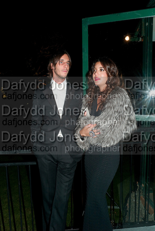 VLADIMIR ROITFELD; TATIANA ROSTOI, Evgeny Lebedev and Graydon Carter hosted the Raisa Gorbachev charity Foundation Gala, Stud House, Hampton Court, London. 22 September 2011. <br /> <br />  , -DO NOT ARCHIVE-&copy; Copyright Photograph by Dafydd Jones. 248 Clapham Rd. London SW9 0PZ. Tel 0207 820 0771. www.dafjones.com.