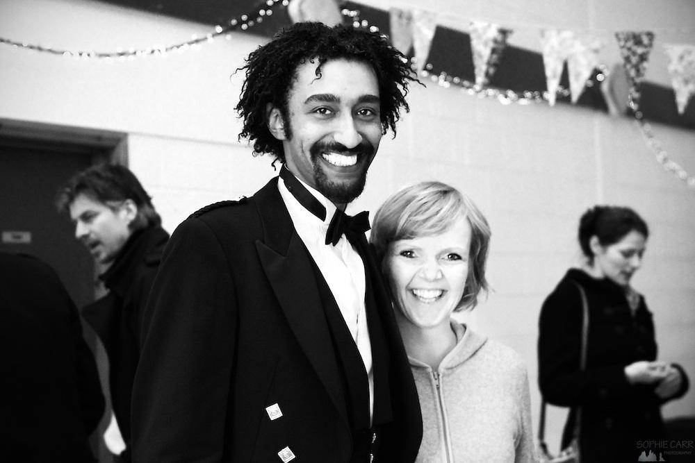 Saif & Margunn at Jan & Carrie's wedding