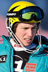 23.01.2011, Hahnenkamm, Kitzbuehel, AUT, FIS World Cup Ski Alpin, Men, Slalom, im Bild // Marcel Hirscher (AUT) // during the men slalom race at the FIS Alpine skiing World cup in Kitzbuehel, EXPA Pictures © 2011, PhotoCredit: EXPA/ S. Zangrando