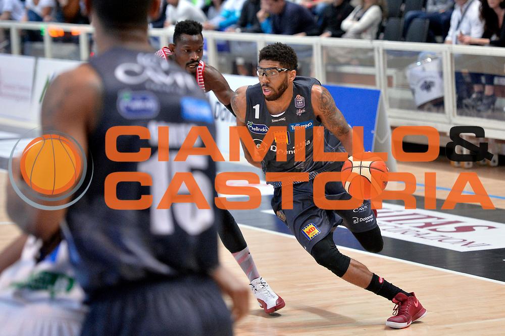 Roy Devyn Marble<br /> Dolomiti Energia Aquila Basket Trento - Consultinvest Victoria Libertas Pesaro<br /> Lega Basket Serie A 2016/2017<br /> Trento, 26/03/2017<br /> Foto M. Ceretti / Ciamillo - Castoria