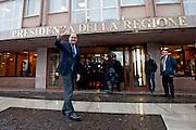 2013/03/12 Roma, il Presidente della Regione Lazio prende possesso degli uffici. Nella foto Nicola Zingaretti.<br /> Rome, president of Regione Lazio take possession of the offices. In the picture Nicola Zingaretti - &copy; PIERPAOLO SCAVUZZO