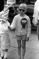 1983 Yorkshire Miner's Gala. Barnsley