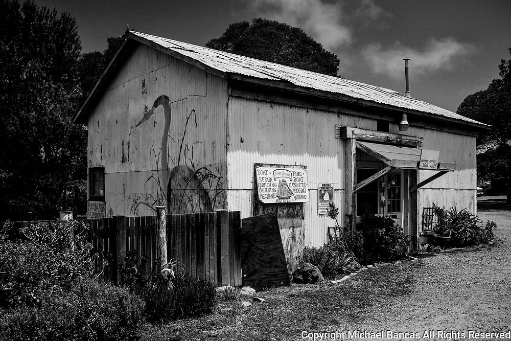 Old Office for one of the harbors in Sausalito California
