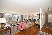 Living Room at 401 East 74th Street