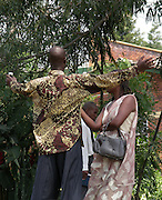 A couple in Kibuye, Kivu.
