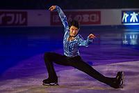 KELOWNA, BC - OCTOBER 24: Gold medalists Yuzuru Hanyu of Japan performs during the gala of Skate Canada International at Prospera Place on October 24, 2019 in Kelowna, Canada. (Photo by Marissa Baecker/Shoot the Breeze)