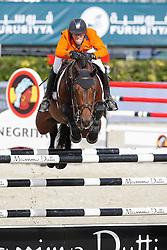 Van Der Vleuten Maikel (NED) - VDL Groep Verdi<br /> Furusiyya FEI Nations Cup Jumping Final Round 1<br /> CSIO Barcelona 2013<br /> © Dirk Caremans