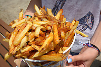 Boardwalk french fries, Ocean City, Maryland.