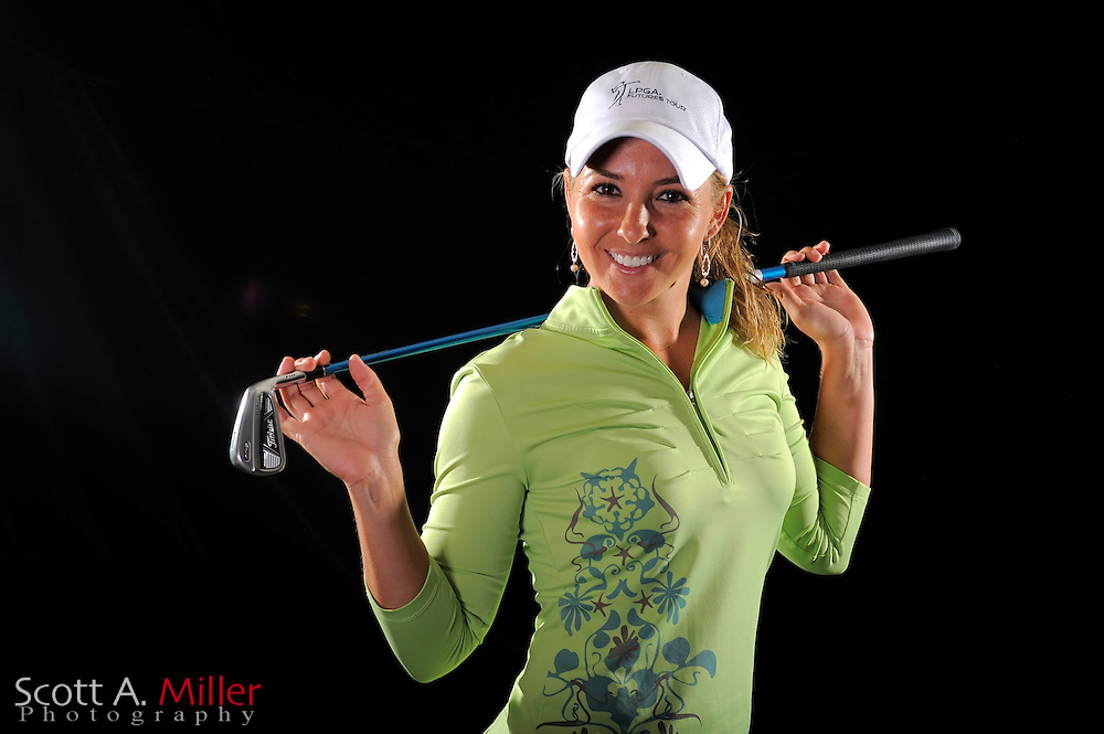 Christina Jones during a portrait shoot prior to the LPGA Future Tour's Daytona Beach Invitational at LPGA International's Championship Courser on March 28, 2011 in Daytona Beach, Florida... ©2011 Scott A. Miller