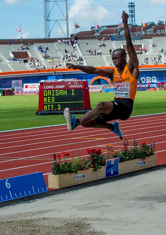 06-07-2016 NED: European Athletics Championships, Amsterdam<br /> Ignisious Gaisah NED