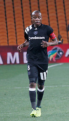 Orlando Pirates captain Thabo Matlaba in a  match between Orlando Pirates  and Cape Town City at  Fnb Stadium on Tuesday September 19, 2017.