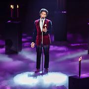 NLD/Hilversum/20160109 - 4de live uitzending The Voice of Holland 2015, optreden Jared Grant