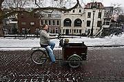 Fietser in Utrecht