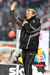 05.12.2010,  BayArena, Leverkusen, GER, 1. FBL, Bayer Leverkusen vs 1. FC Koeln, 15. Spieltag, im Bild: Frank Schaefer (Trainer Koeln)  EXPA Pictures © 2010, PhotoCredit: EXPA/ nph/  Mueller       ****** out ouf GER ******