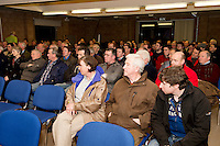 Crowd at the Sheep Seminar at the Teagasc Liam Mellows campus Athenry Picture:Andrew Downes.