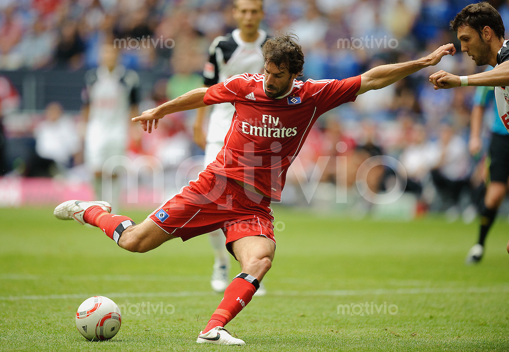 Fussball Liga total Cup 2010 Hamburger SV - 1. FC Koeln Ruud VAN NISTELROOY (HSV).
