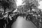 People's  March for Jobs, Yorkshire and Liverpool to London. Luton 25/05/1981