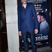London, England, UK. 23 January 2018. Stephen Merchant Arrivers at Beginning - press night at Ambassadors Theatre.