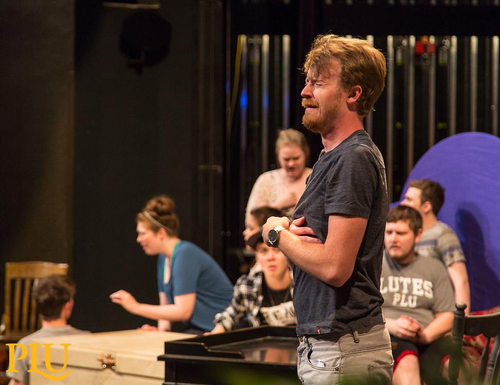 Summer opera workshop at PLU, Monday, July 10, 2017. (Photo: John Froschauer/PLU)