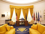 Oval Office Replica at Richard Nixon Presidential Library and Museum Yorba Linda California